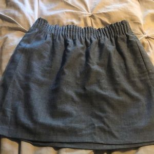 J. Crew Factory Wool Blend Skirt Size 6